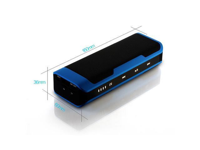 J6 Outdoor Stereo HiFi Bluetooth Speaker with 4000mAh Battery Power Bank Waterproof Dustproof Shockproof Speaker for computer Mobile MP3