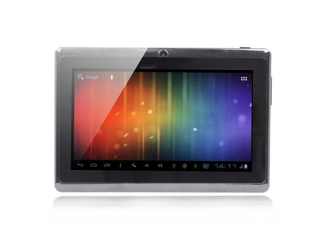 BENEVE Android 4.1 Capacitive Touch Screen Tablet PC w/ Wi-Fi / TF - Silver + Black