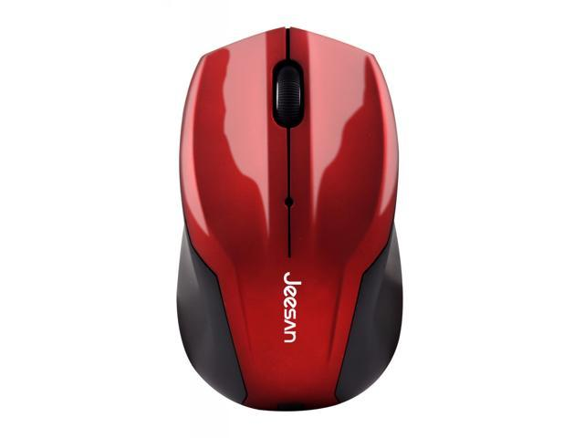 Dare-u G909 Mill Finish Wireless Gaming Mouse with Nano Receiver - Red
