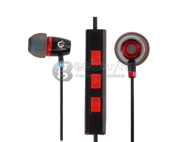 Geek Buying Syllable T19-001 Wired 3.5mm Jack In-Ear Earphones w/ Microphone for iphone5/4S ipad ipod
