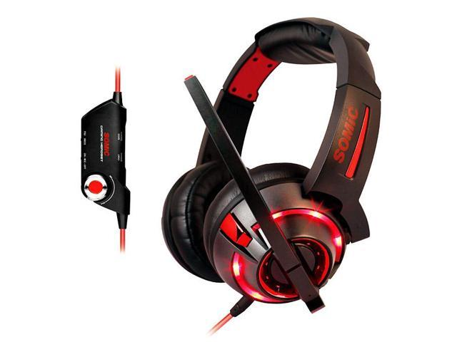 Geek Buying Somic G983 7.1 Channel Gaming Headset Voice Noise Canceling Reduction Wired Headphones with MIC USB Plug Support PS3 / Xbox / ...