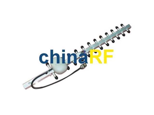 2.4GHz 16DBi Wifi Yagi Antenna For 802.11b/g N-Female