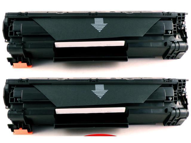2-Pack Compatible HP 78A, CE278A Toner Cartridge for HP LaserJet P1566, LaserJet Pro M1536dnf, P1606dn Printers