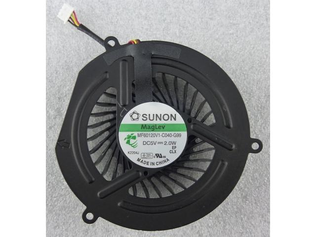 aCompatible new CPU Cooling Fan for Lenovo IBM IdeaPad Y470 Y470N Y471 Y471A series laptop.