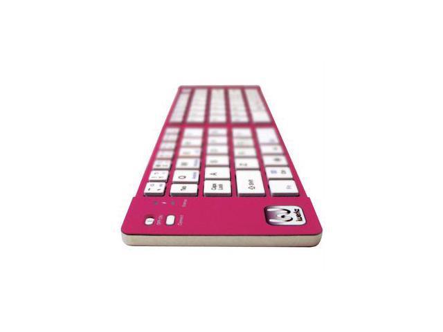 Iwerkz 44652pi Universal Foldable Bluetooth Keyboard (pink Ikat)