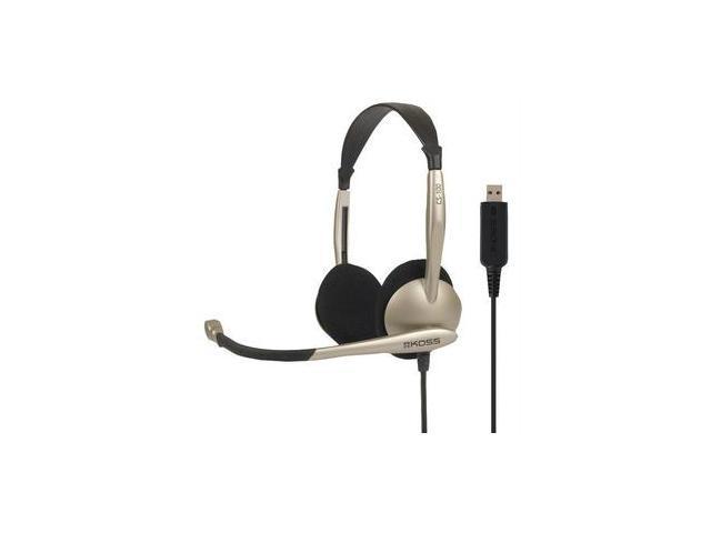 Koss 178188 Cs100 Usb On-ear Over-the-head Stereophone Headset