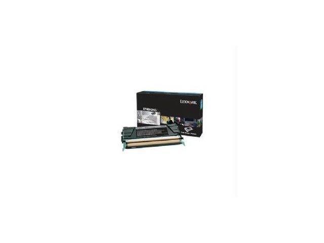 Lexmark X746x748 Black High Yield Return Program Print Cartridge (12k)