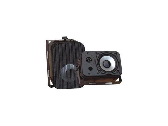 Pyle Pdwr40b 5.25 Indoor/outdoor Waterproof Speakers (black)