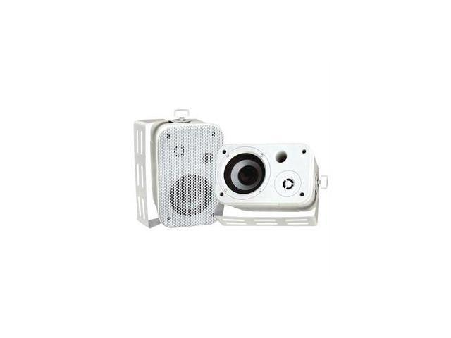 Pyle Pdwr30w 3.5 Indoor/outdoor Waterproof Speakers (white)