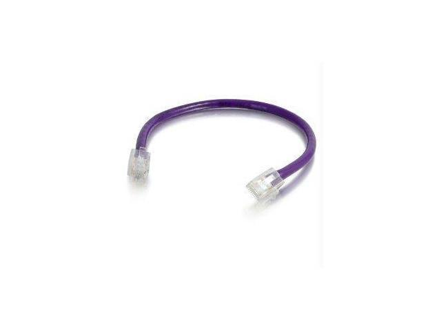 C2g C2g 9ft Cat6 Non-booted Unshielded (utp) Network Patch Cable - Purple