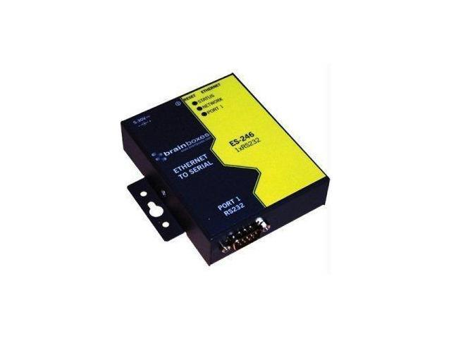 Brainboxes Ltd 1 Port Rs232 Ethernet To Serial Adapter