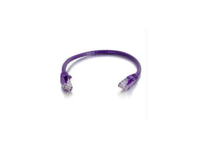 C2g C2g 12ft Cat6 Snagless Unshielded (utp) Network Patch Cable - Purple