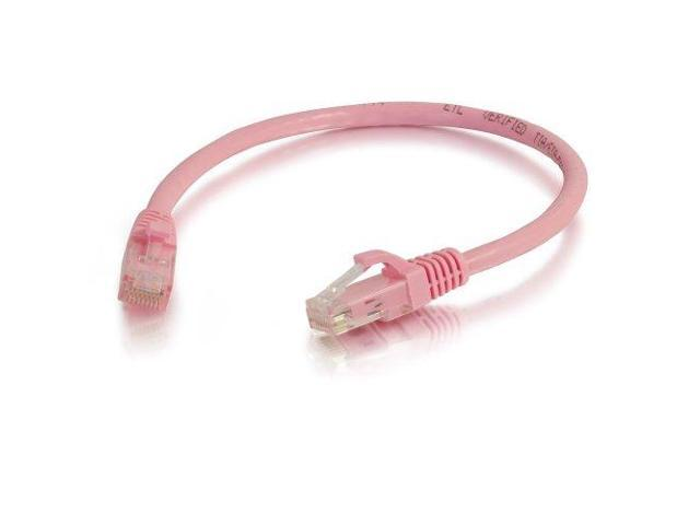 C2G / Cables to Go 04052 Cat6 Snagless Patch Cable, Pink (10 Feet/3.04 Meters)