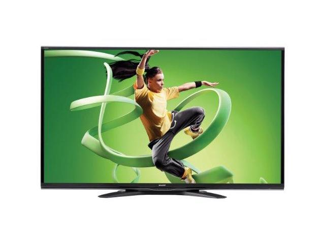 Sharp LC-60EQ10U 60-Inch Aquos Quattron 1080p 240Hz Smart LED HDTV