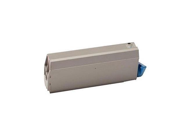 52123801 Yellow 11500 Page Yield Toner Cartridge for Okidata MPS711C Printer