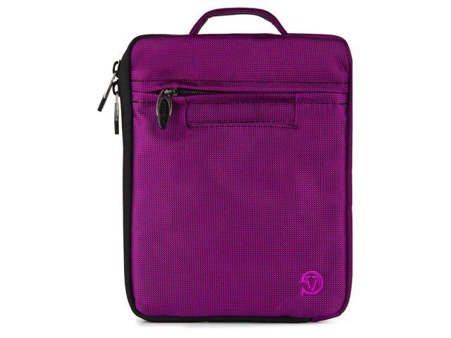 VanGoddy Purple Hydei Ultra Portable Nylon Padded Carrying Case with Handle for 7 to 8 inch Tablets and eReaders