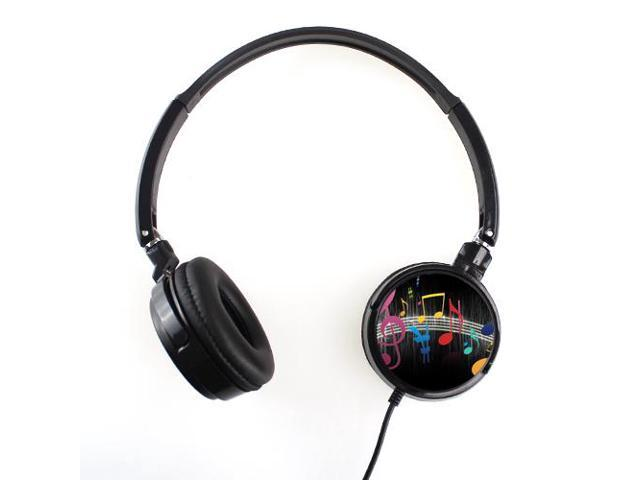 Customized Music Notes Earphone Personalized Headphone