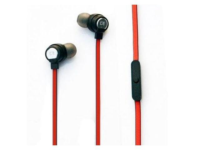 Astrotec DX-60 Bass Enhanced Earphone with Microphone Red