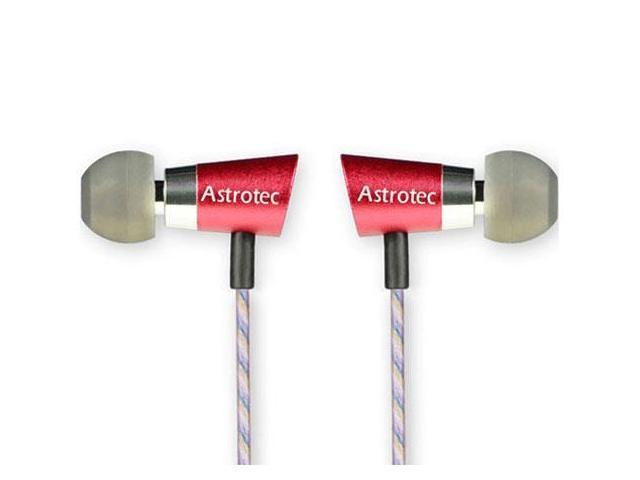Astrotec AM-90Mic Moving Iron In-Ear Earphone with microphone Red