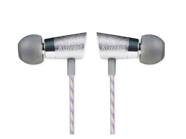 Astrotec AM-90Mic Moving Iron In-Ear Earphone with microphone Silver