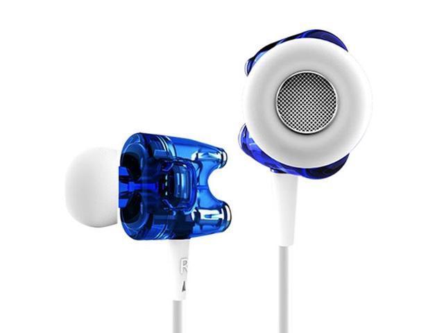 TTPOD T1S HiFi Dual Dynamic In-Ear Headphone / Earphones with Microphone