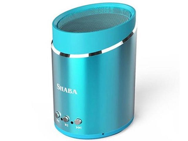 SHABA VS-16 Sport Wireless Bluetooth Speaker Dynamic Flash Stereo Portable Speaker Blue