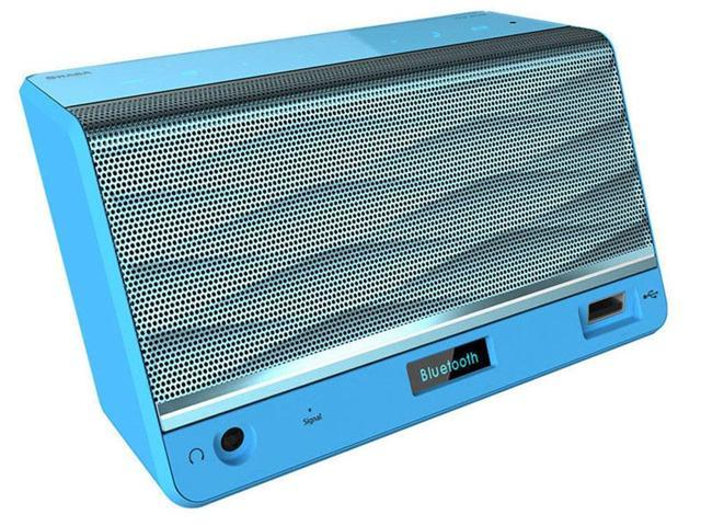 SHABA VS-33 Luxury-Portable HiFi Wireless Bluetooth Speaker Powerful Sound FM/NFC/Handsfree Blue