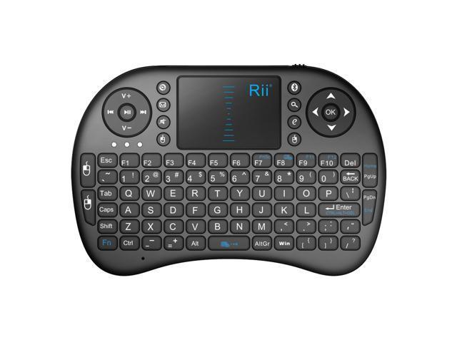Hot selling RII I8 BT BLACK Wireless Keyboard ship from USA