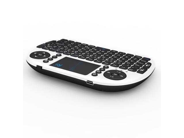 RII I8 BT WHITE Wireless Keyboard Ship from USA