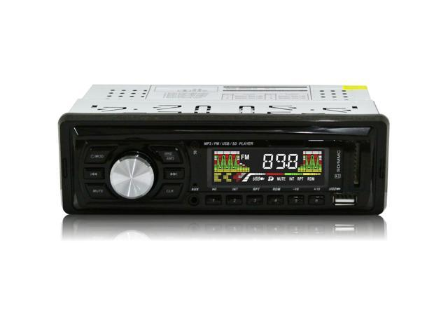 EZONETRONICS LC0502 Car FM and MP3 MP4 Stereo Radio Receiver Aux with USB port and SD Card Slot