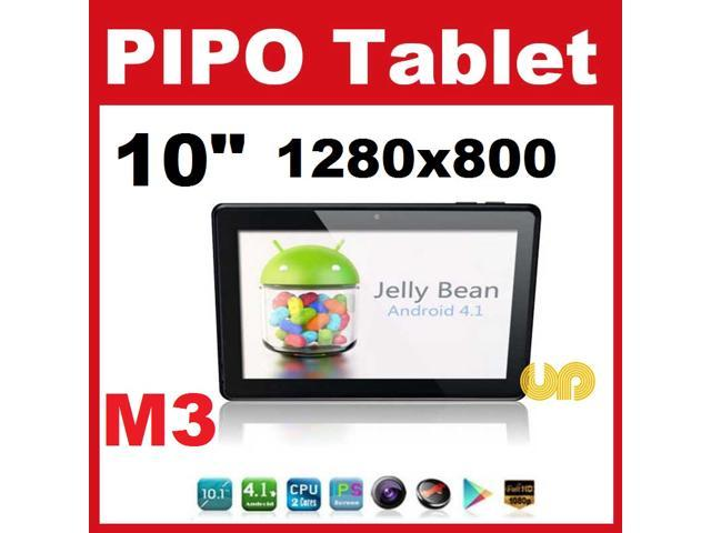 tops out pipo m3 wifi dual core rk3066 tablette android 4 1 jelly bean ips 10,1 inch 1280*800 bluetooth this