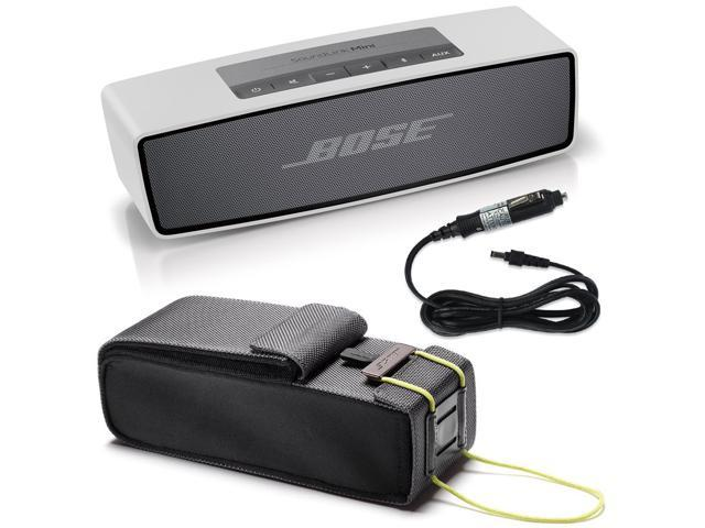 Bose SoundLink Mini Bluetooth Wireless Speaker w/ Travel Bag and Car Charger