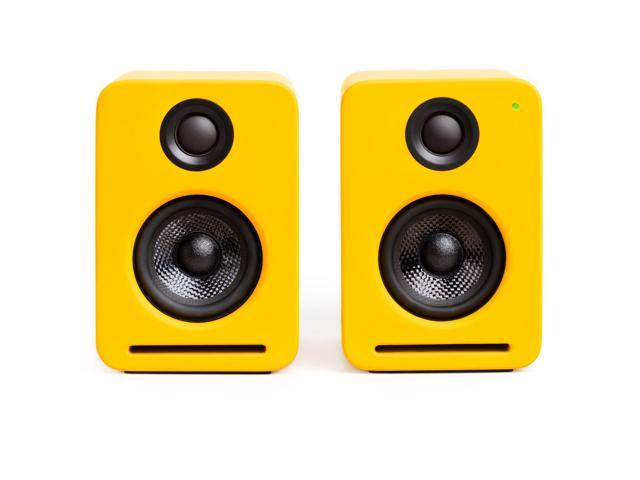 Nocs NS2-109US NS2 Air Monitors V2 Bookshelf Speakers - Dirty Yellow