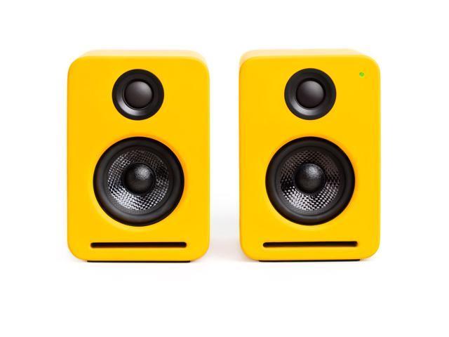 Nocs NS2-109US NS2 Air Monitors V2 Bookshelf Speakers - Dirty Yellow