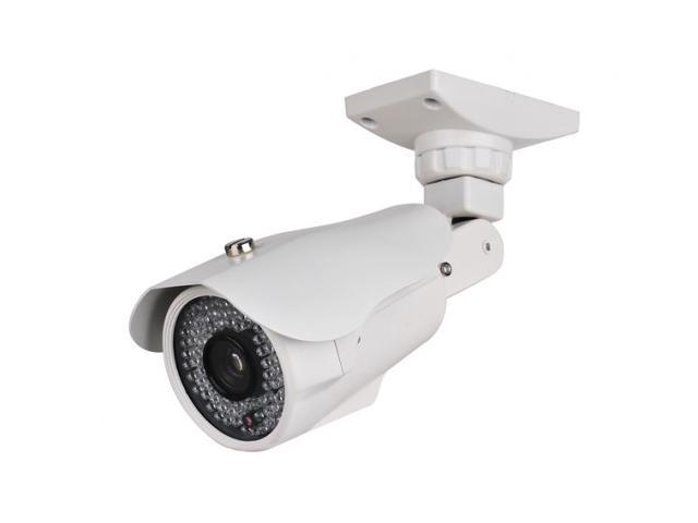 DVRDeal License Plate Camera 700TVL TV Lines High Resolution Recognization Infrared Night Vision Surveillance CCTV Security Camera, 5-50mm Vari ...