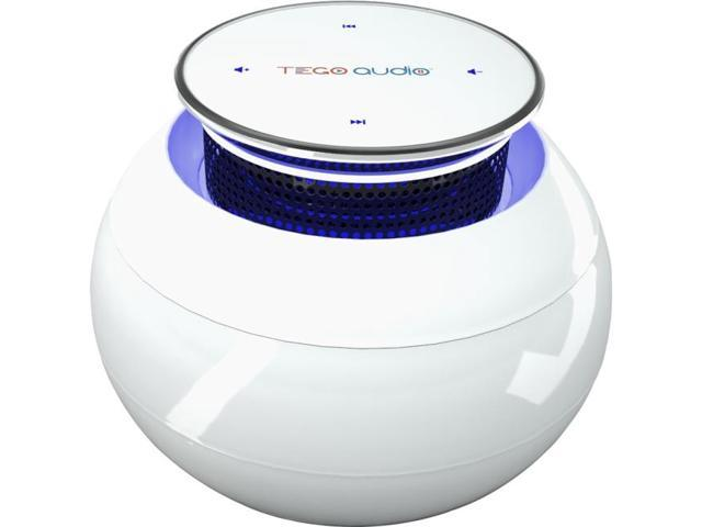 Tego Audio - TAC-White - Tego Audio CERA Speaker System - Wireless Speaker(s) - Cosmic White - 32.8 ft - USB
