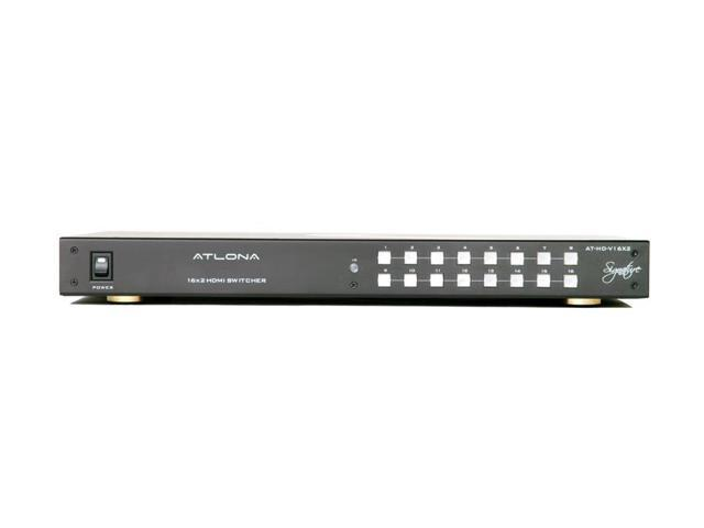 Atlona - HDV16X2 - 16x2 HDMI Switcher with Mirrored Outputs
