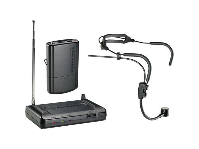 Audio Technica - ATR-7100H-T8 - AUDIO TECHNICA ATR-7100H-T8 Headworn VHF Wireless Microphone System (171.905MHz)