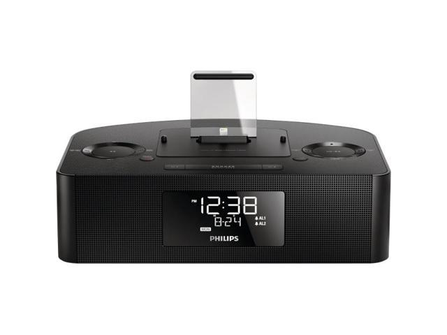 Black Charging and Docking Station for iPod®/iPhone®/iPad®