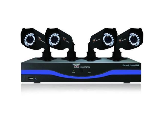 Night Owl Optics - B-L85-4245 - Night Owl B-L85-4245 Video Surveillance System - 4 x Camera, Digital Video Recorder -