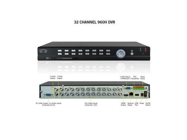 Night Owl Optics - F9-DVR32 - Night Owl 32 Channel 960H Video Security System - Digital Video Recorder - 30 Fps -