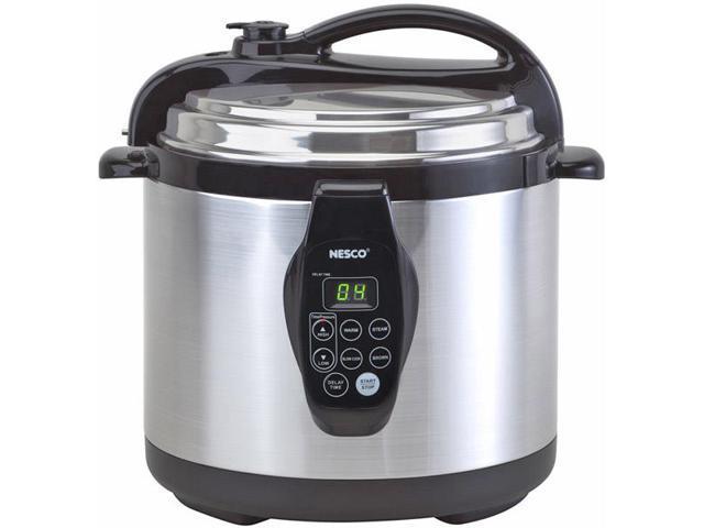 Nesco - PC6-25 - NESCO PC6-25 6-Quart Digital Electric Pressure Cooker