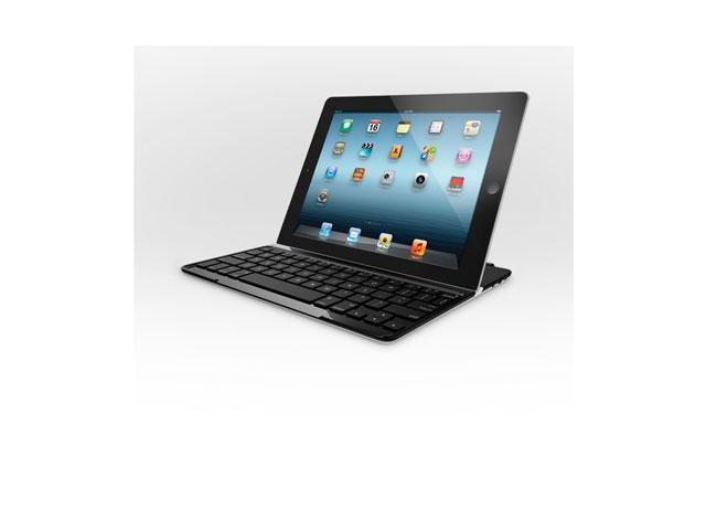 Logitech - 920-004013 - Ultrathin Aluminum Cover with Bluetooth Keyboard, for iPad 2/3rd Gen, Silver