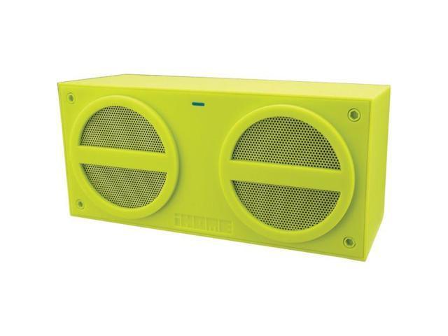 iHome Speaker System - Wireless Speaker(s) - Green