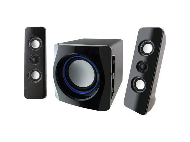 2.1-Channel Bluetooth Speaker System with Subwoofer