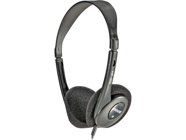 HP-100 Lightweight Stereo Headphones