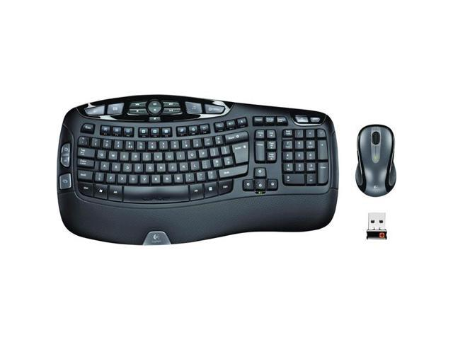 Wireless Keyboard and Laser Mouse Combo