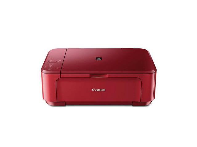 CANON PIXMA MG3520 RED - WIRELESS INKJET PHOTO ALL-IN-ONE PRINTER - 5.7 IPM - UP