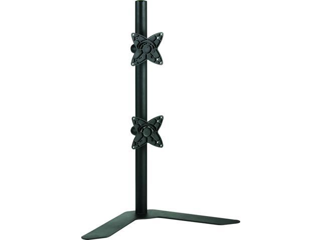 VIVO STAND-V002H Dual LCD Monitor Desk Stand Free Standing Vertical - for 2 Screens up to 27
