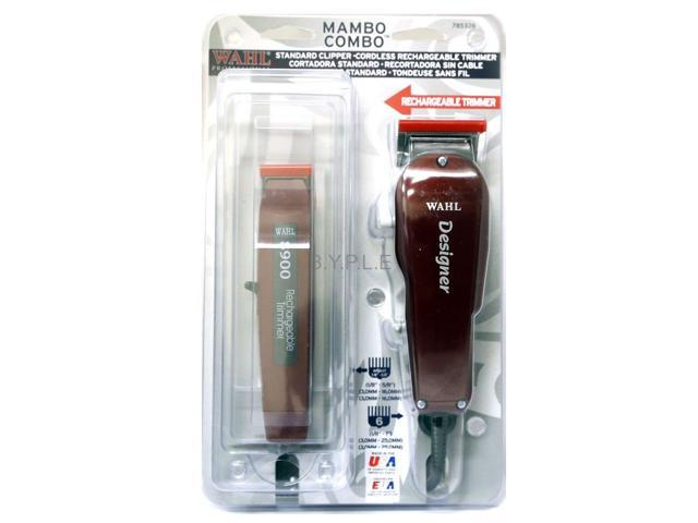 Wahl Mombo Designer Clipper and Cordless Trimmer Combo #8326-200